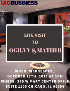 Site Visit to Ogilvy & Mather