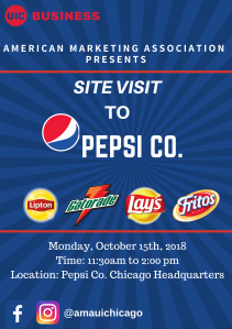 Pepsi Co. Flyer
