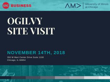 Ogilvy Site visit